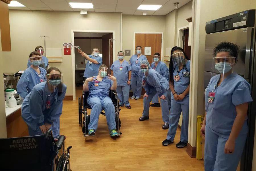 Nurses in QikVin Face Masks